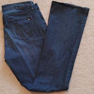 Kardashian- Curvy Slim Boot Cut Jeans